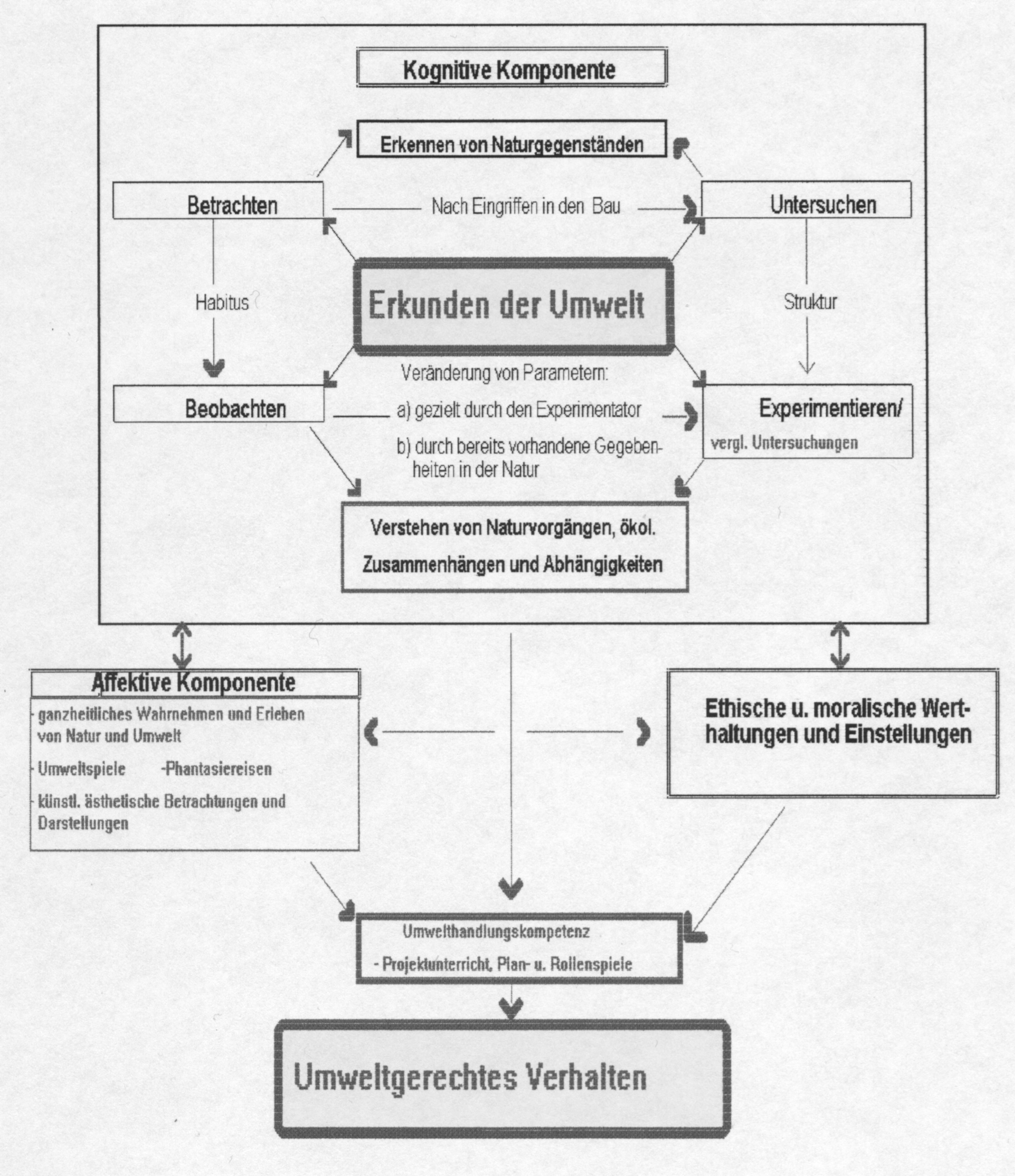 Methoden der Umwelterziehung an außerschulischen Lernorten
